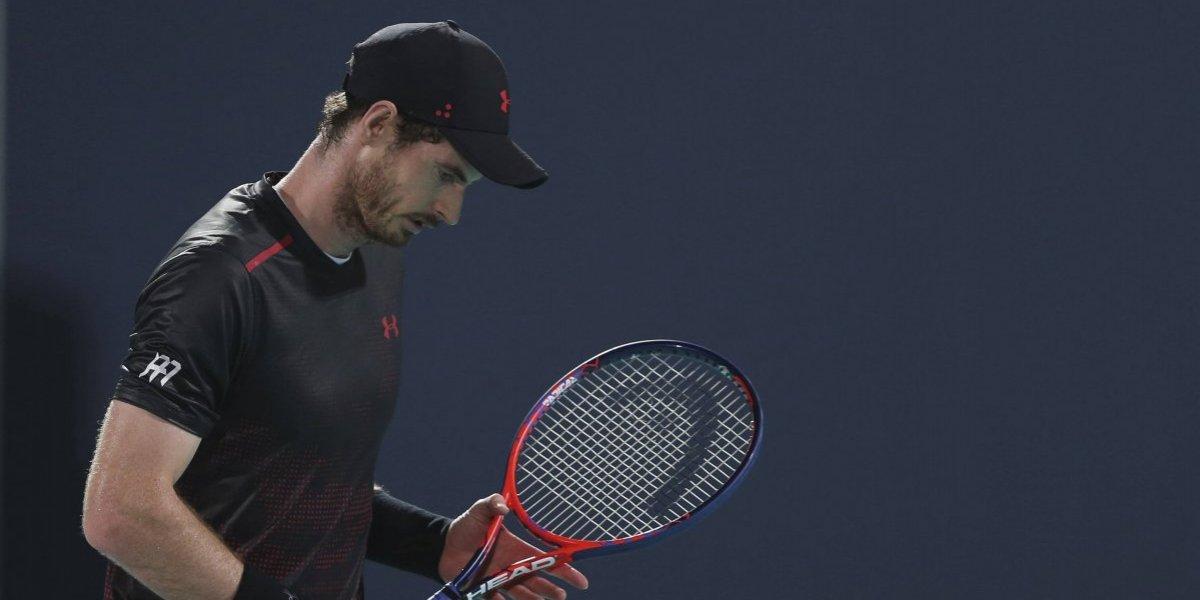 Tras cirugía en cadera, Andy Murray estará fuera de las canchas