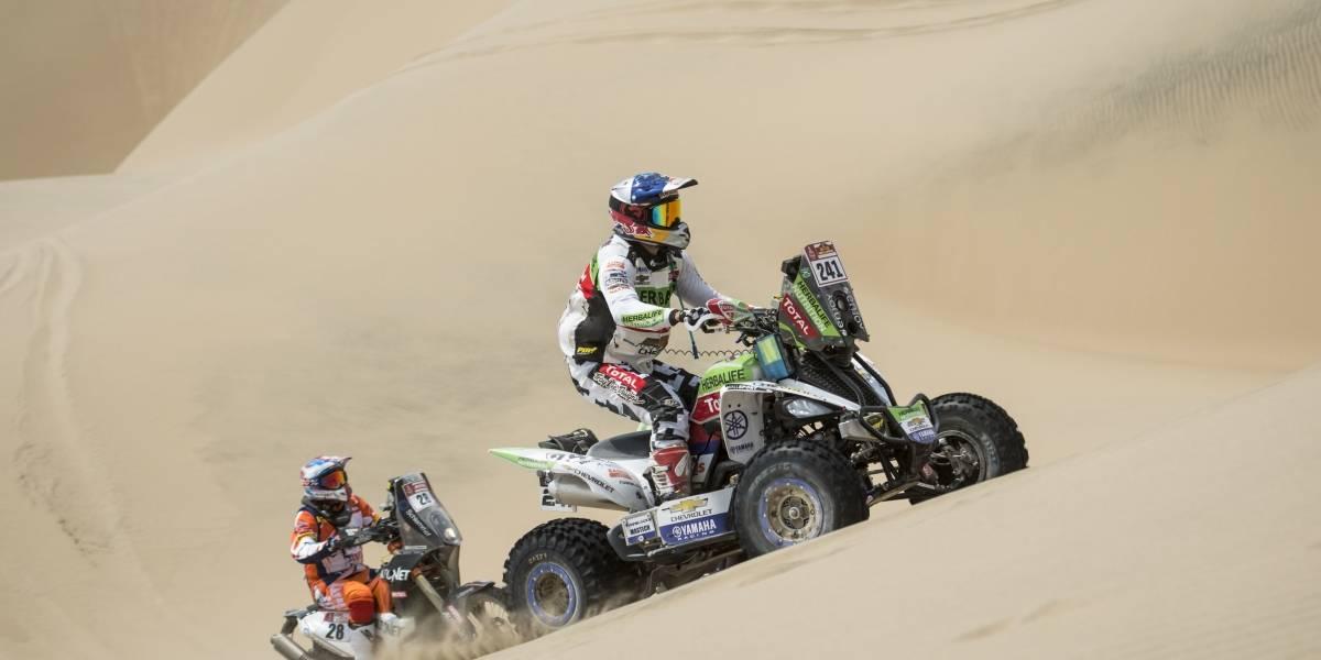 Ignacio Casale arrasa con todos en los quads y gana su tercera etapa consecutiva en el Dakar