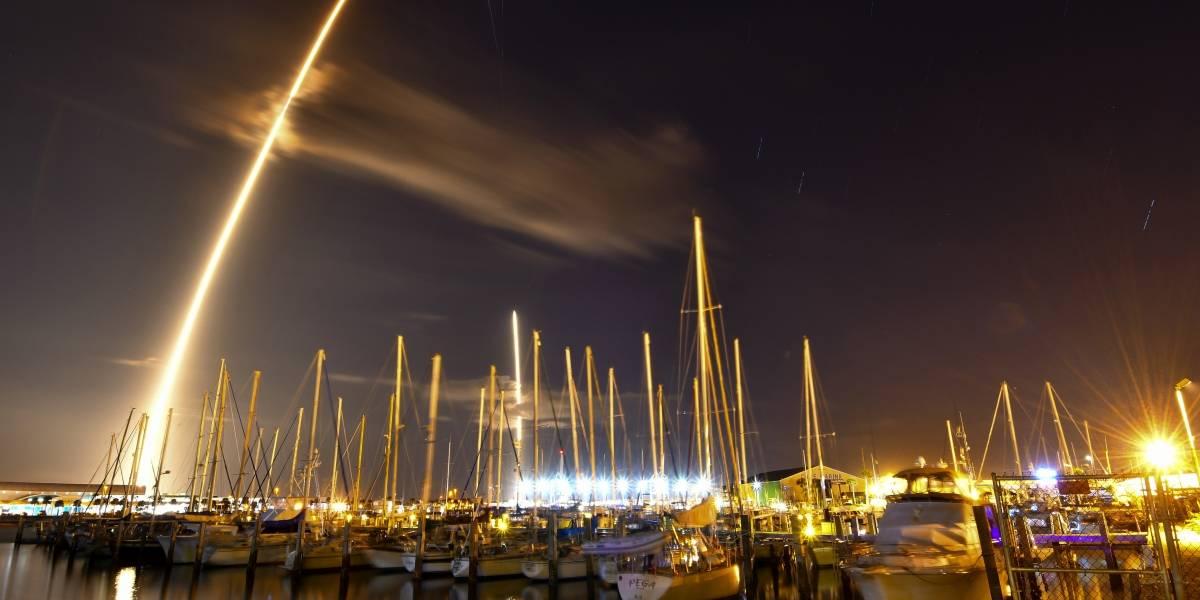SpaceX realiza su primer lanzamiento en 2018: satélite secreto