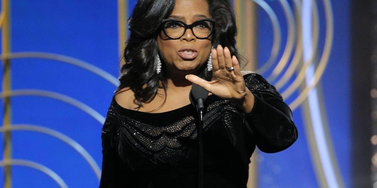 ¿Oprah para presidente? Seguidores se lo piden en Twitter