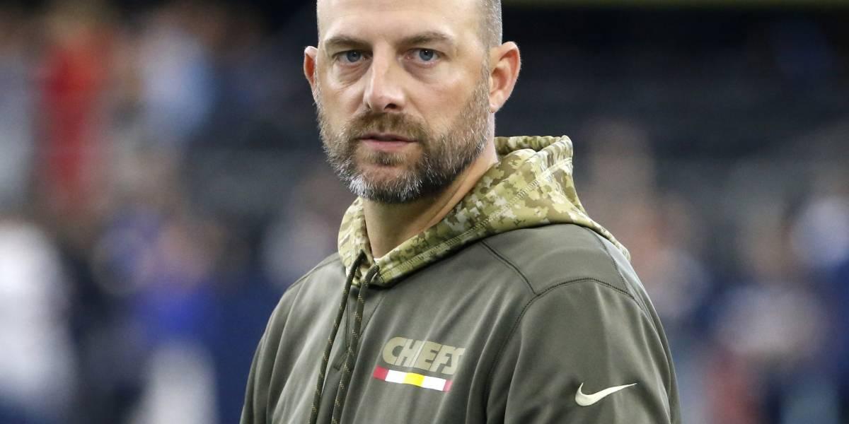 Matt Nagy, nuevo entrenador en jefe de los Osos de Chicago