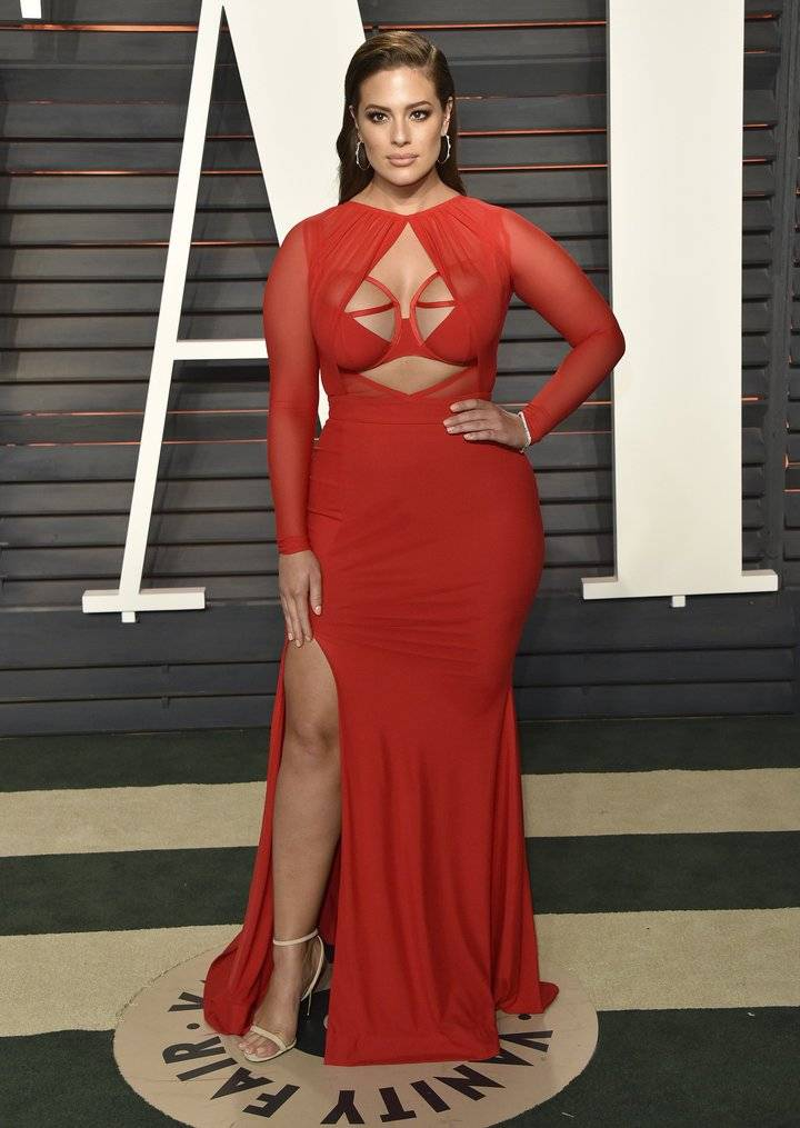 Ashley Graham, premios Osar 2016