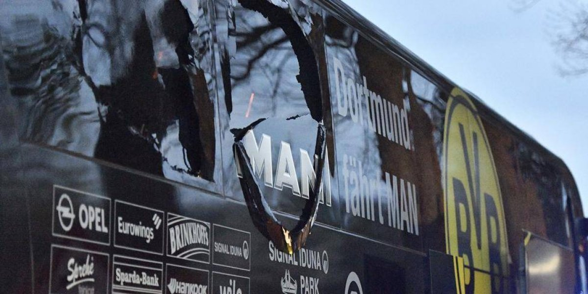 Autor de atentado al Dortmund dijo que no tuvo intención de matar