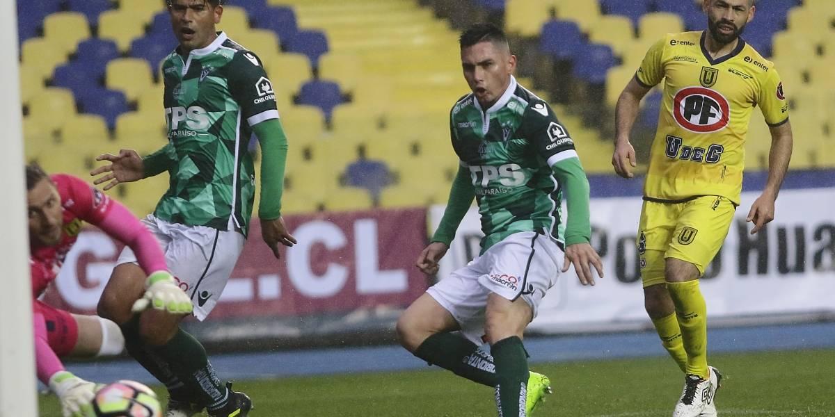 """Jean Paul Pineda en su llegada a la U. de Conce: """"Siento mucho el haber dejado a Wanderers en segunda"""""""