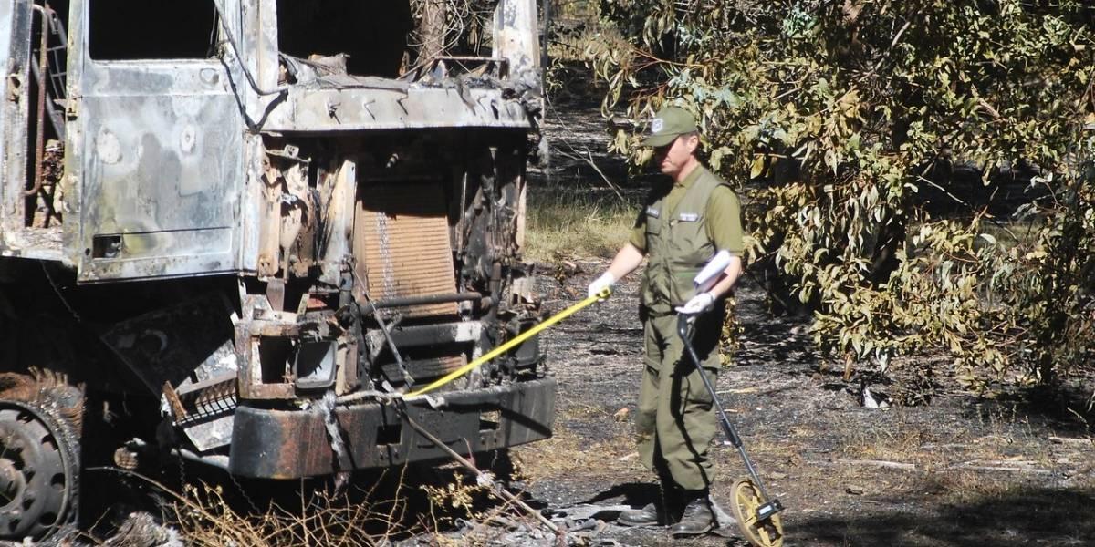 Megaincendio en Quilicura: llamas afectan a predio y reducen a cenizas a 70 vehículos