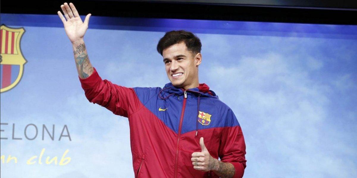 Coutinho aterriza directamente a la clínica del Barcelona: lesión muscular lo tendrá 20 días fuera