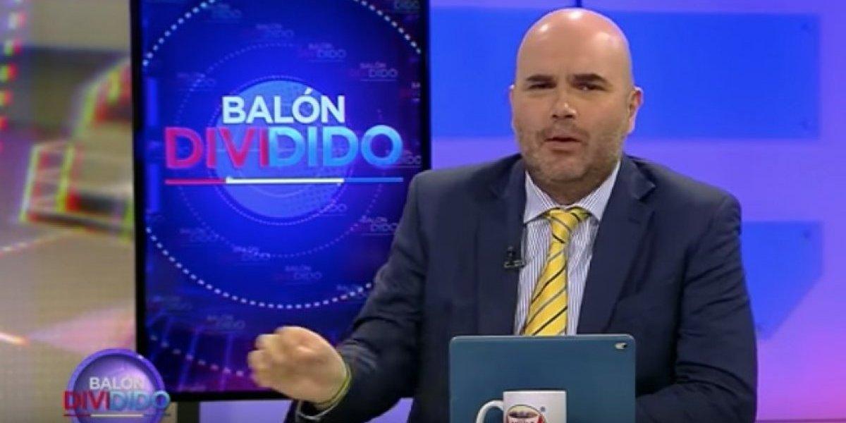 """Periodista colombiano de ESPN recibe insultos tras avisar de """"ambiente hostil"""" que le espera a Rueda en Chile"""