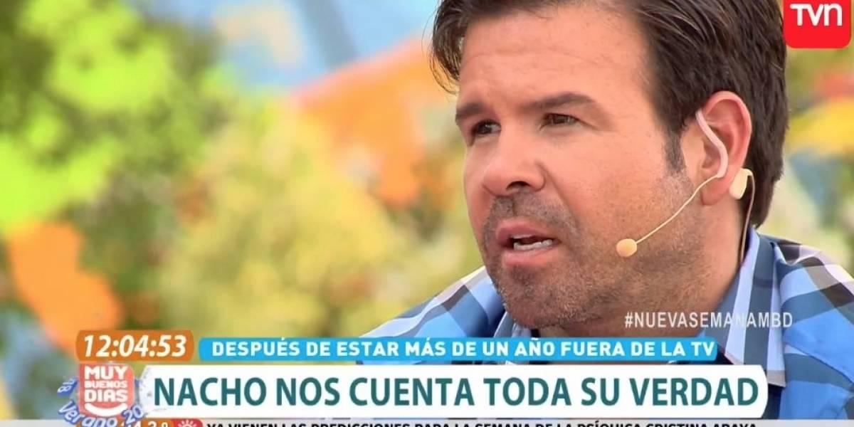 """""""Me saqué las cresta por ese canal"""": el desahogo de Ignacio Gutiérrez en su primer día en """"Muy buenos días"""""""