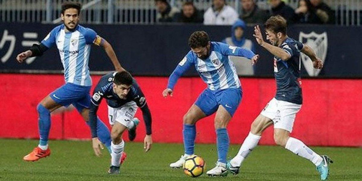 Manuel Iturra tuvo un amargo reestreno en Málaga y perdió ante Espanyol