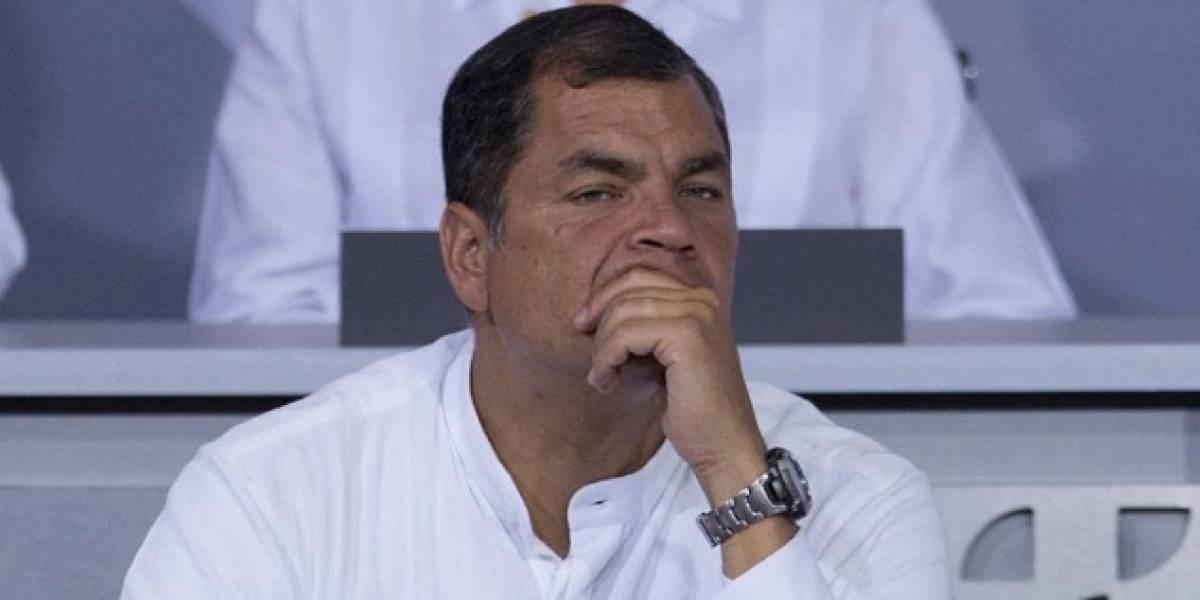 Rafael Correa se pronunció sobre la notificación de la Contraloría