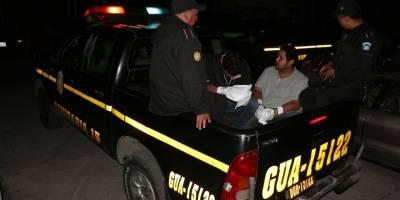 capturados por ataque armado en Villa Nueva