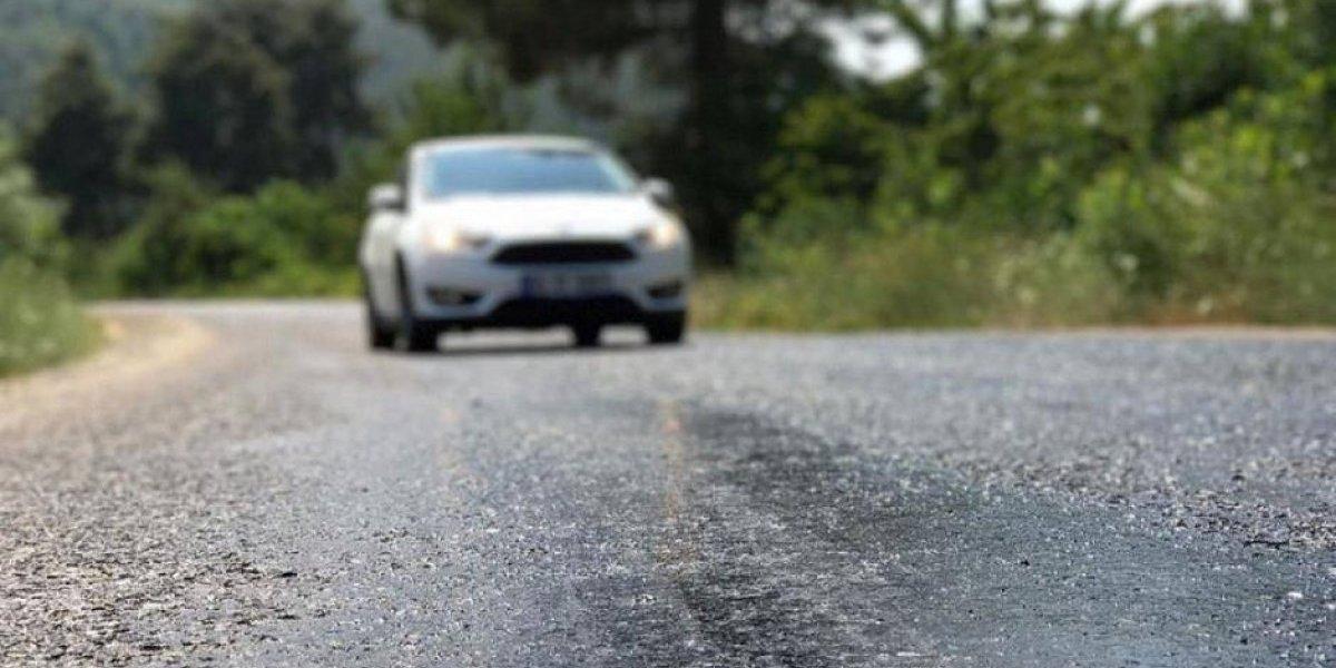 Australia: Asfalto se derrite por el calor