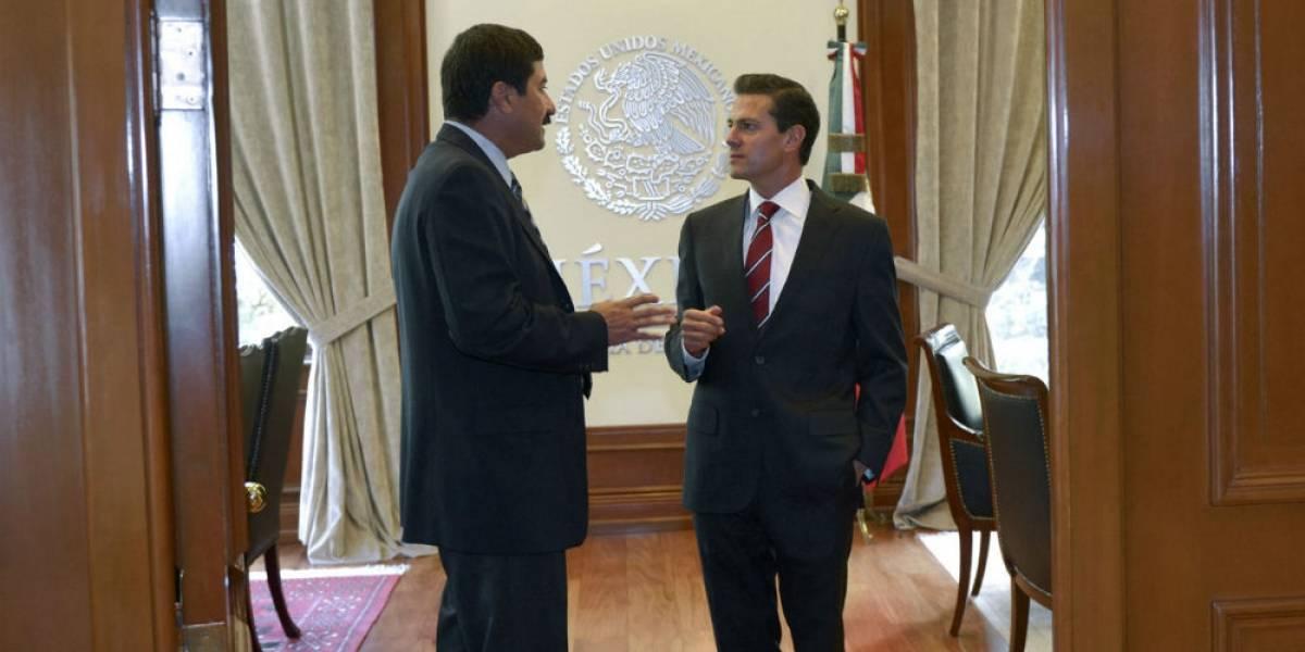 Peña Nieto pide a Corral solucionar 'diferencias' en las instancias correspondientes