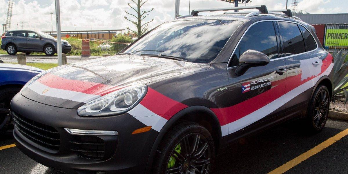 Expedición Porsche ayuda a comunidades afectadas por el huracán María