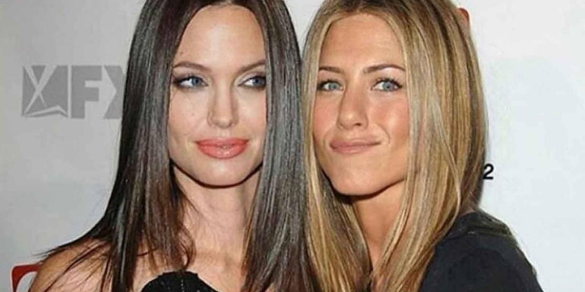 Afirman que Angelina Jolie le hizo un desaire a Jennifer Aniston