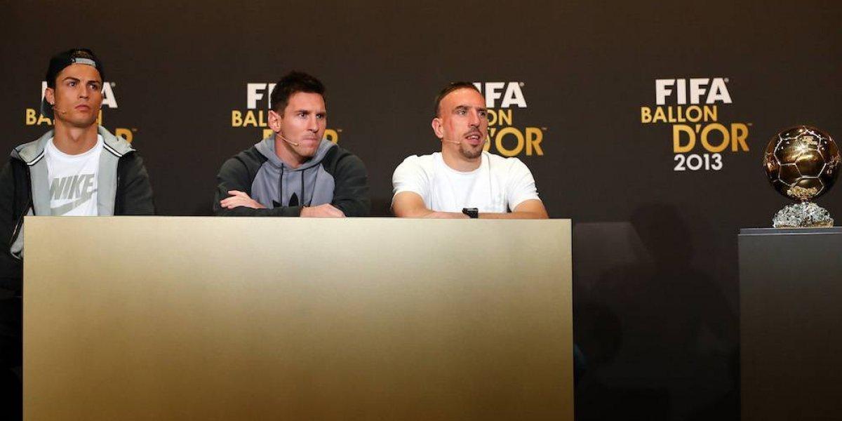 Ribéry cree que le robaron el Balón de Oro de 2013