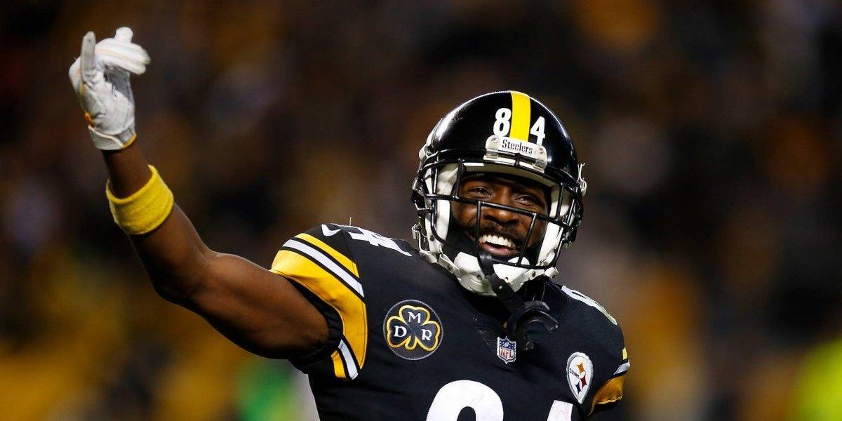 Antonio Brown regresó a los entrenamientos con Pittsburgh