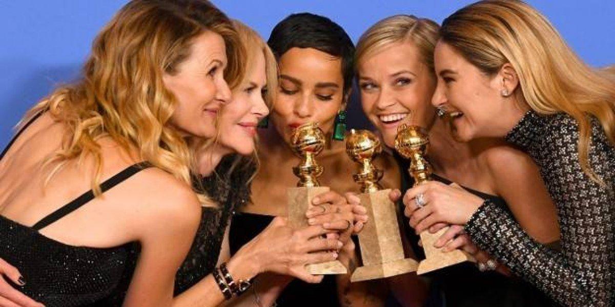 Infografía: Globos de oro 2018 ganadores de TV y Cine