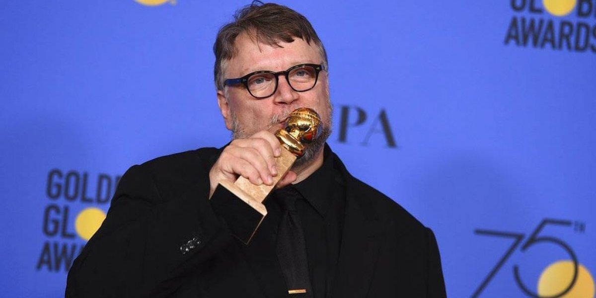 Estos son los famosos que felicitaron a Guillermo del Toro por Globo de Oro