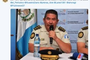 Mensajes cuenta hackeada DTránsito PNC