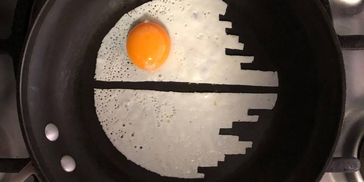 Artista de Instagram convierte huevos fritos en obras de arte