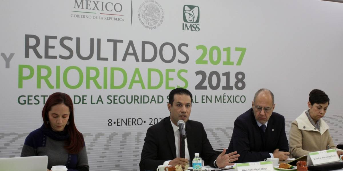 IMSS espera afiliar un millón de personas más en 2018