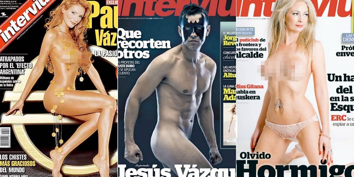 No habrán más desnudos: cierra la revista Interviú