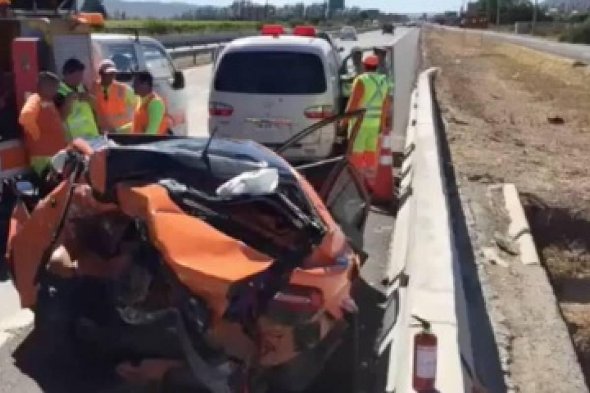 Dos camarógrafos del CDF fallecieron en accidente de tránsito — Casablanca