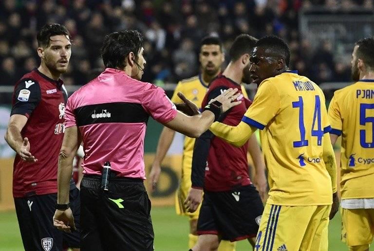 Blaise Matuidi contra el Cagliari