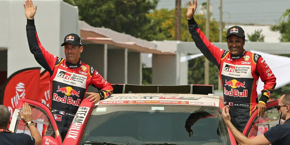 Al-Attiyah vence 3ª etapa e Peterhansel assume ponta do Rally Dakar nos carros
