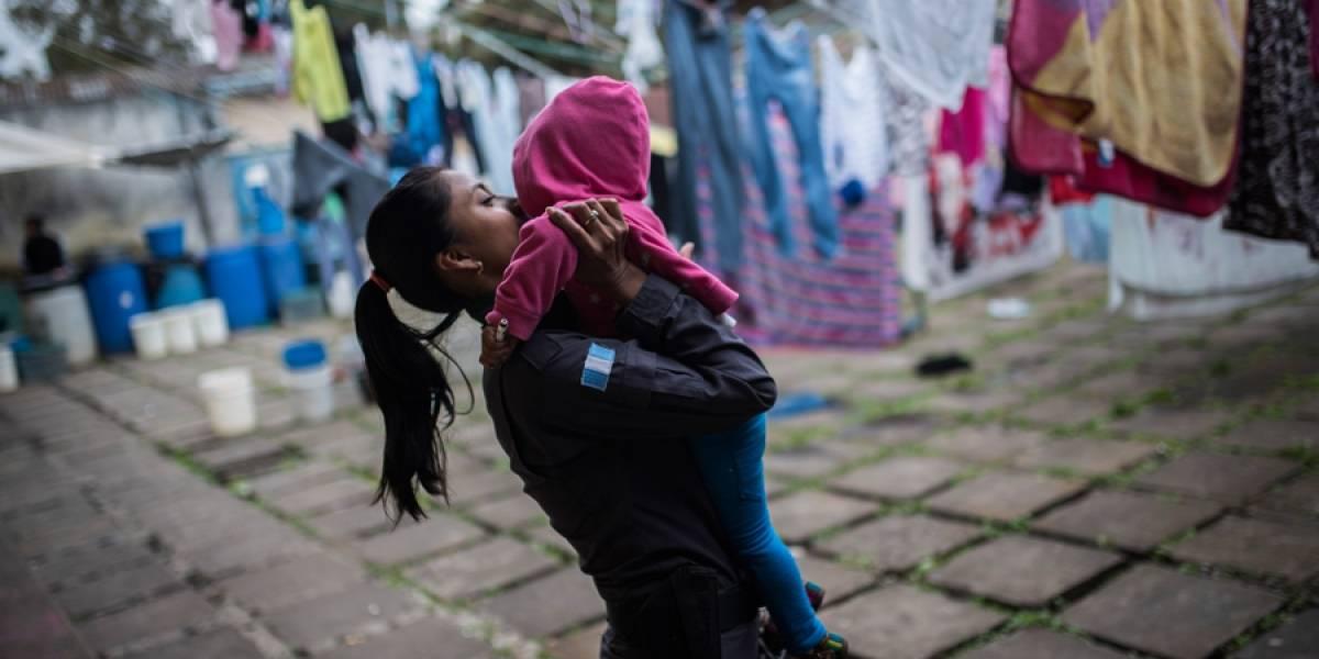 EN IMÁGENES. Niños presos, en abandono y hacinamiento