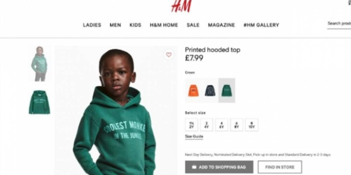 H&M retira una foto publicitaria considerada racista