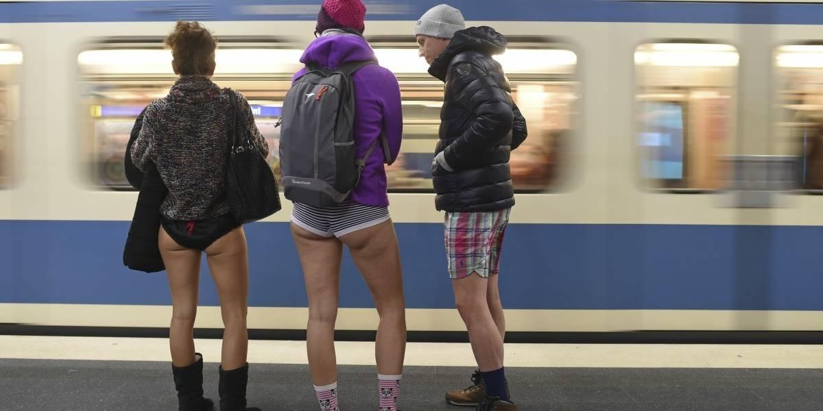 A pesar del frío: ciudades del mundo celebran el tradicional Día Sin Pantalones en el Metro