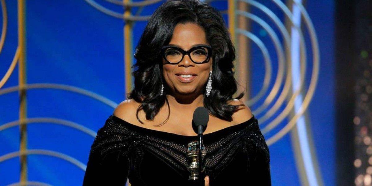 Oprah Winfrey hace llorar en los Golden Globes con su poderoso discurso