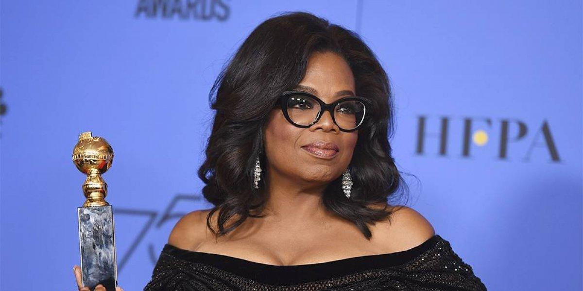 Oprah Winfrey emocionó