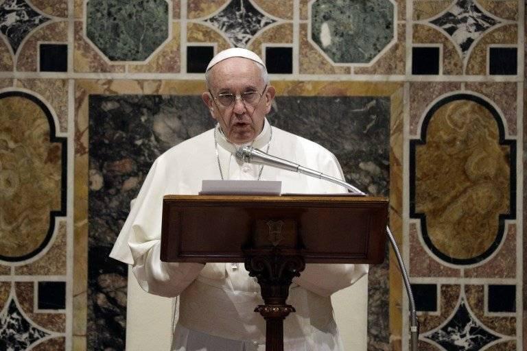 Discurso del papa Francisco