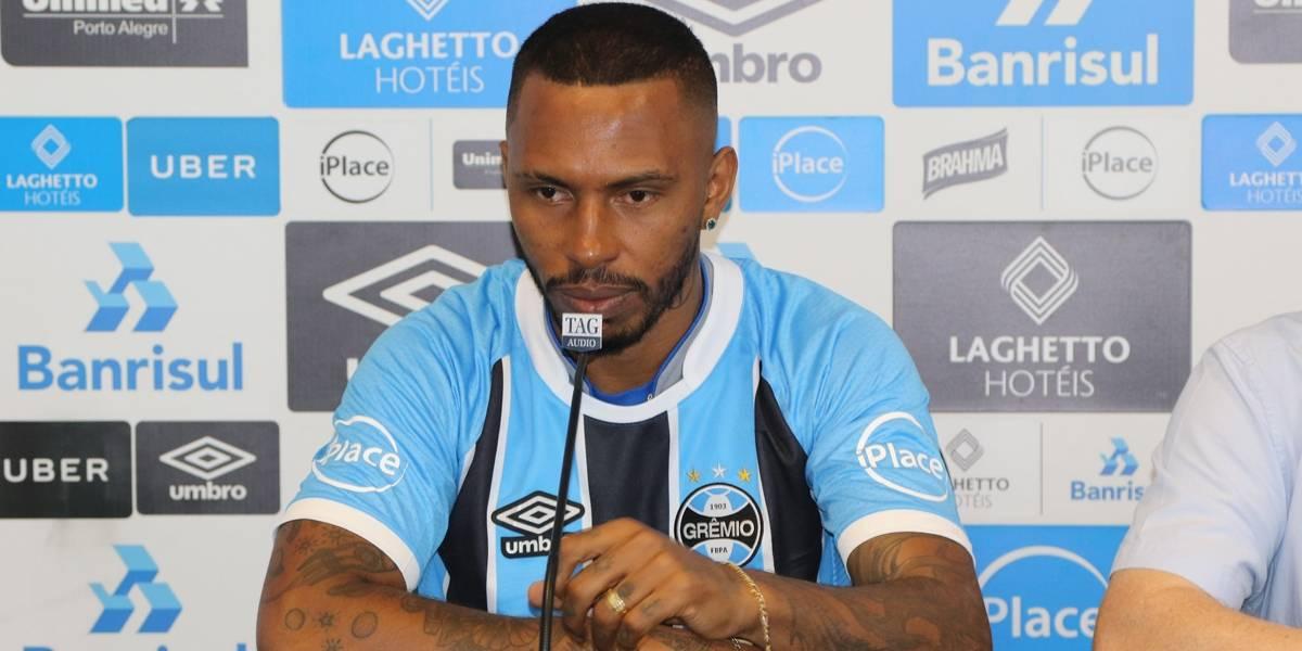 Paulo Miranda comete gafe e chama Grêmio de 'Inter' em apresentação