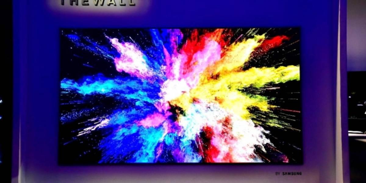 Samsung presenta en el CES el primer TV de 146 pulgadas