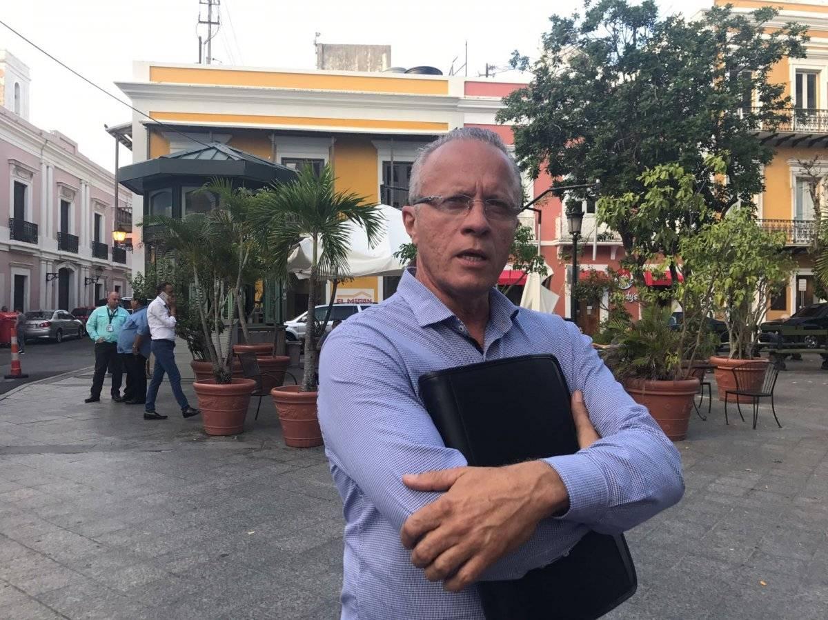 Rolando Ortiz, alcalde de Cayey.