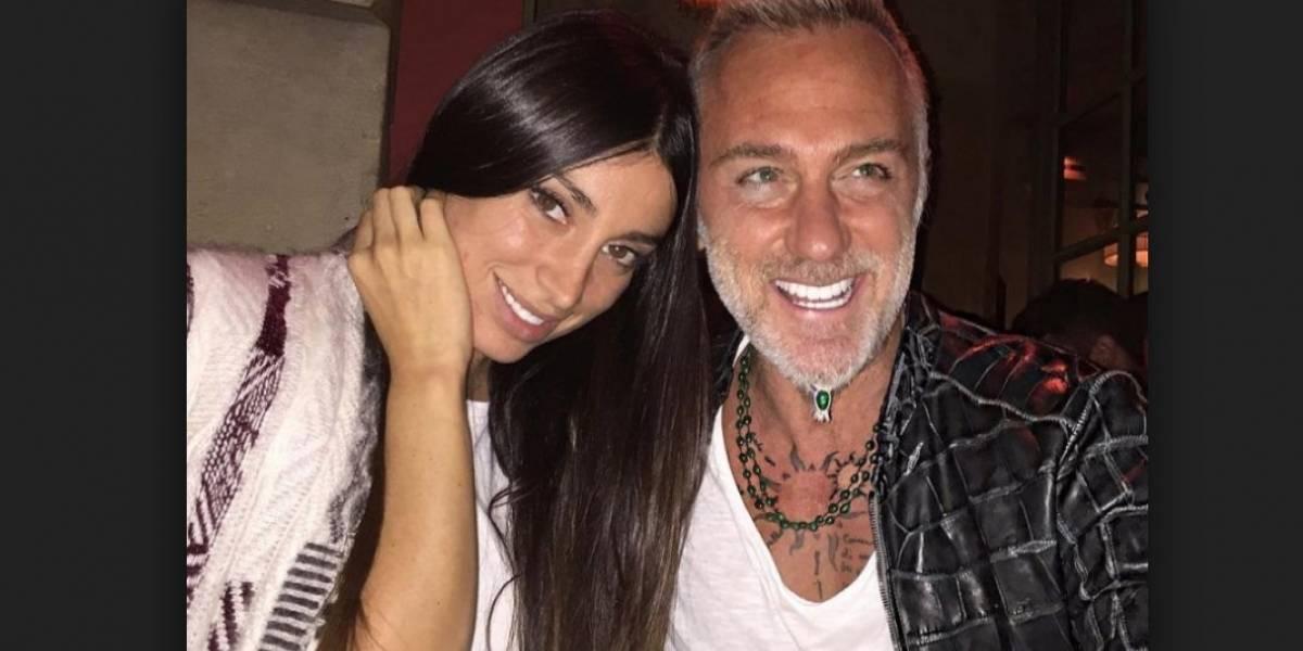 Exnovia de Gianluca Vacchi presenta a su nuevo novio