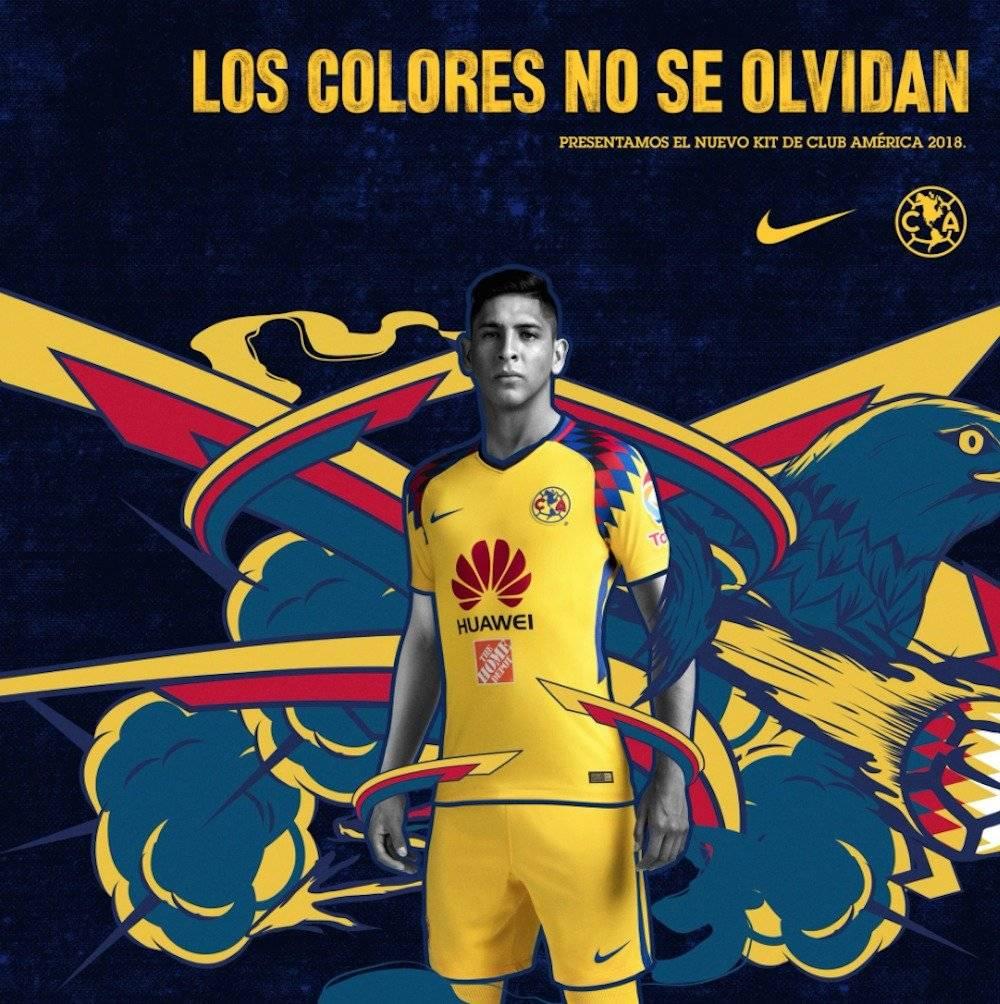 El Club América estrena plumaje para el Clausura 2018