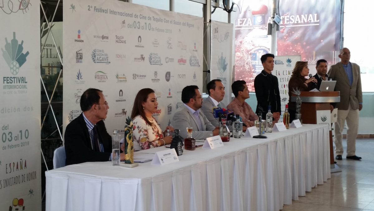 Presentación del programa del FICT en Guadalajara.