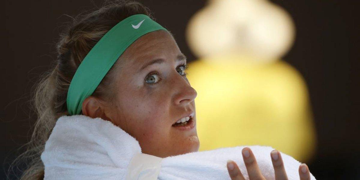 Victoria Azarenka cancela su participación en Abierto de Australia