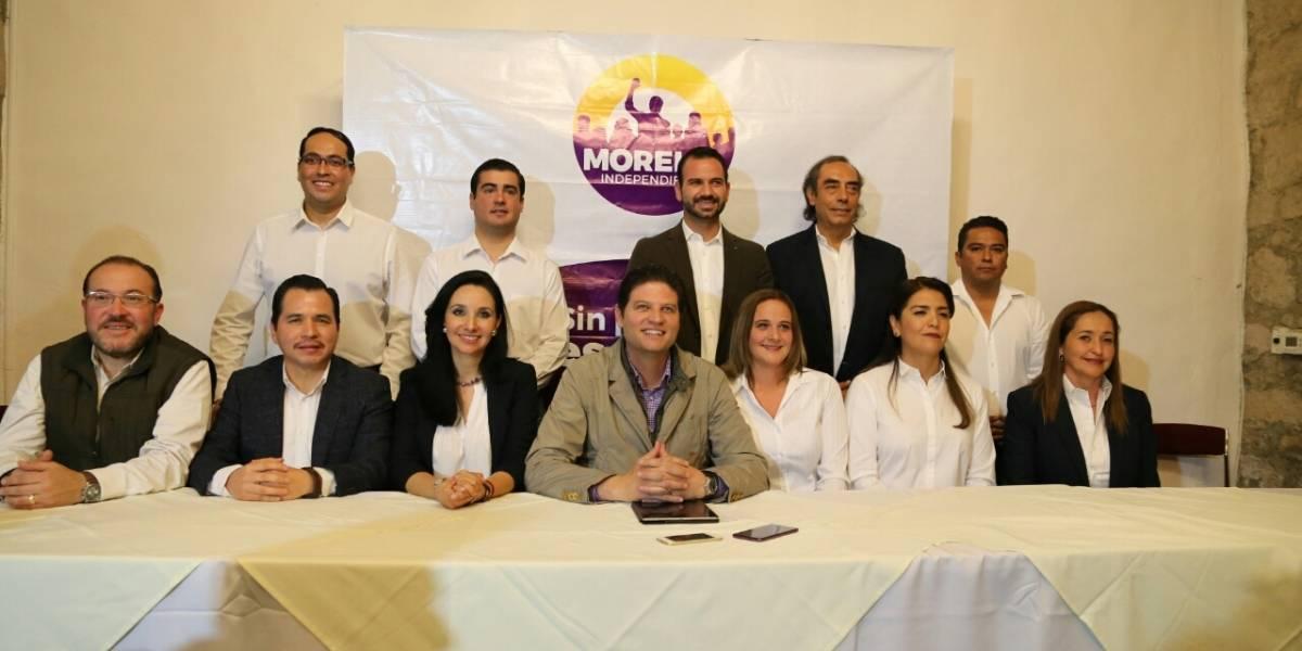 Alcalde de Morelia presenta planilla en busca de reelección