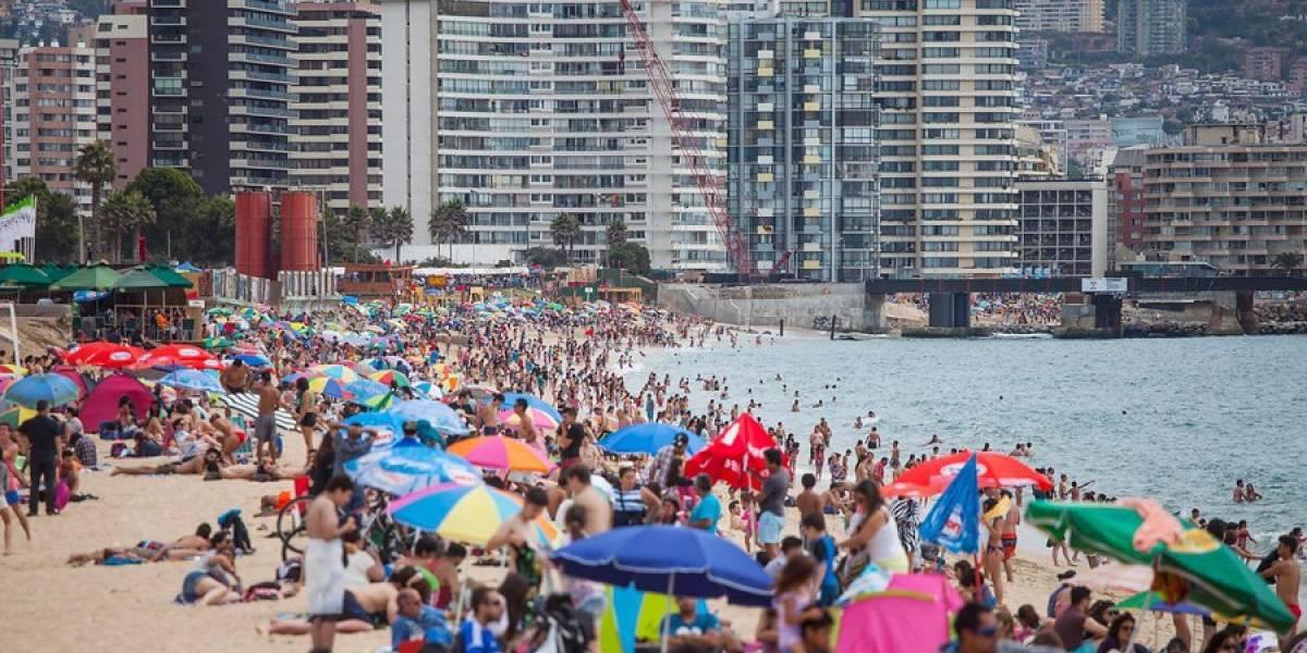 Llegada de turistas extranjeros a Chile alcanza cifra récord en 2017