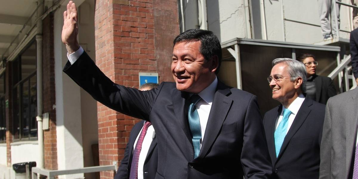 Osorio Chong 'se despide' de la Secretaría de Gobernación