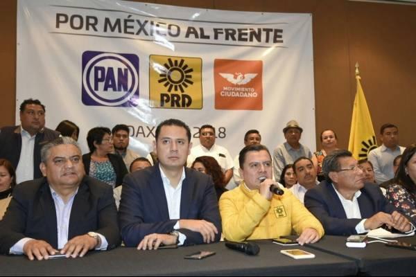 """Coalición """"Por México al Frente"""""""