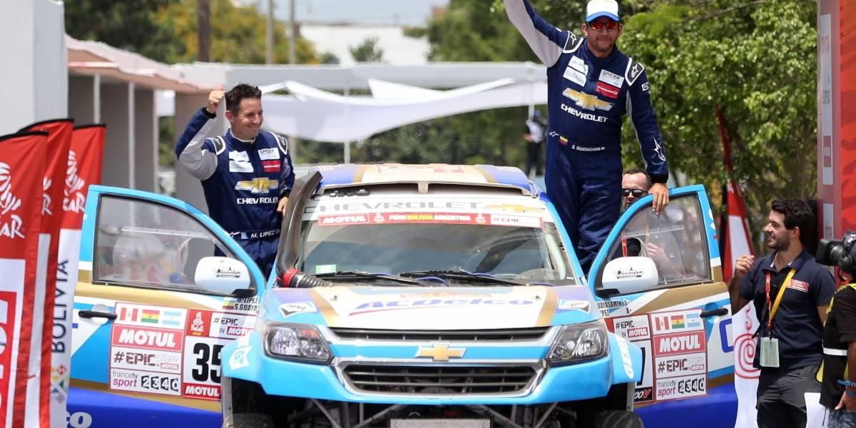 'Fuera de peligro' copiloto de ecuatoriano Guayasamín accidentado en el Dakar