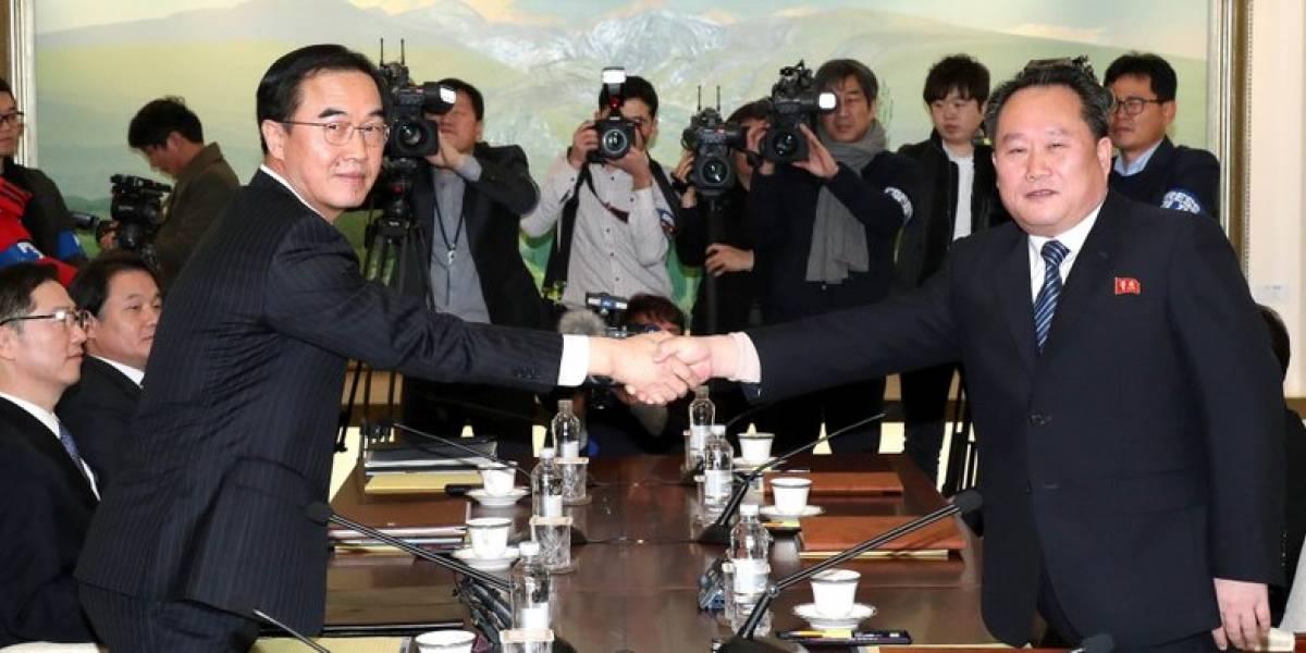 Cuáles fueron los puntos que negociaron las dos Coreas en su primera reunión tras más de dos años