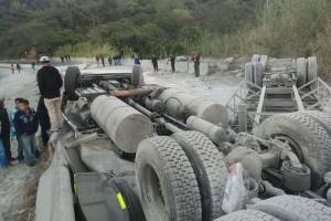 Accidente tránsito ruta a El Salvador